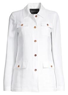 Lafayette 148 Tamaya Metropolis Linen Jacket
