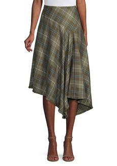 Lafayette 148 Tartan Plaid Skirt