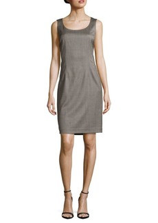 Lafayette 148 Textured Scoopneck Dress