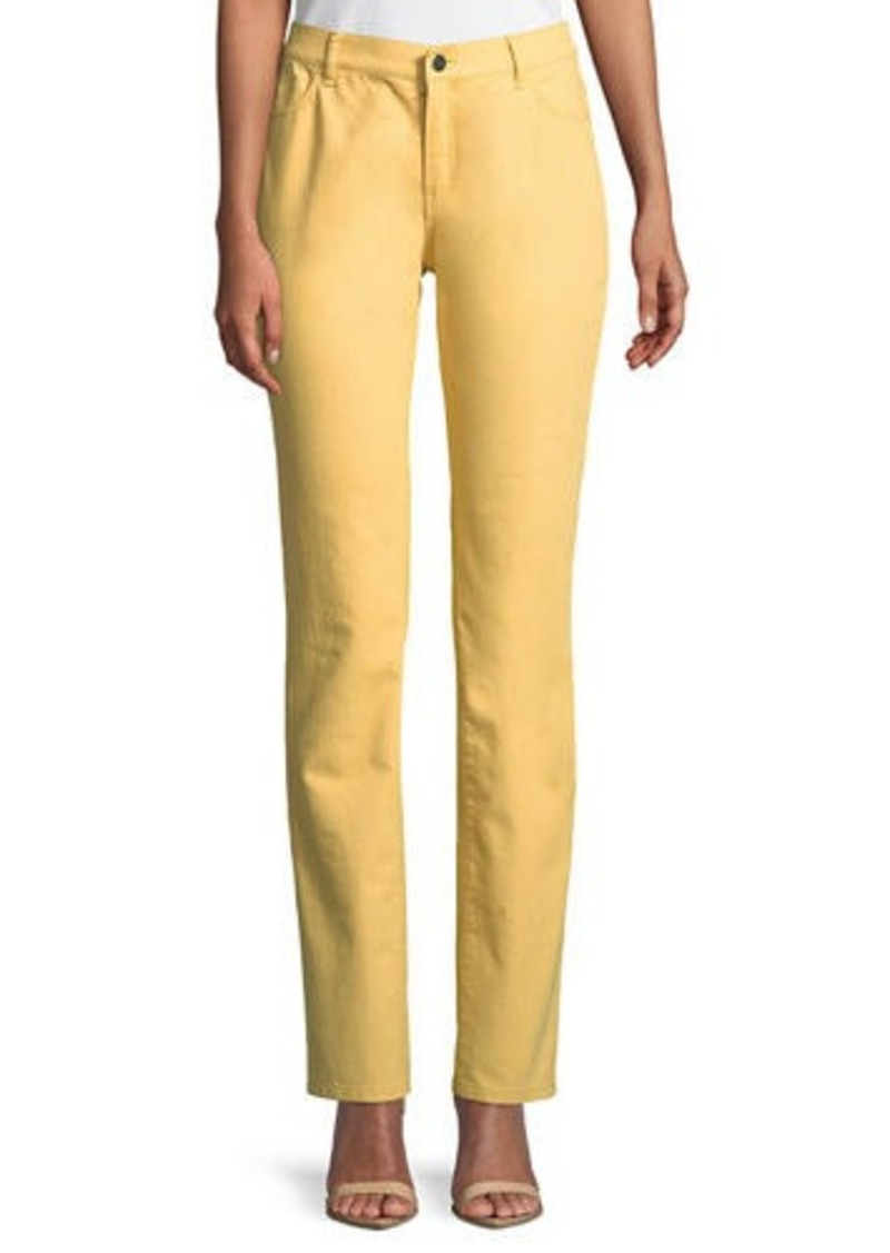 Lafayette 148 Thompson Colored Slim-Leg Jeans