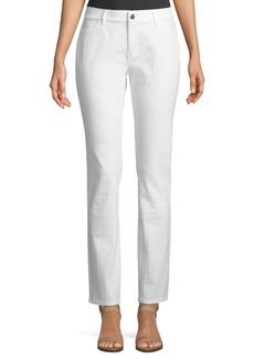 Thompson Pebbled Jacquard Jeans