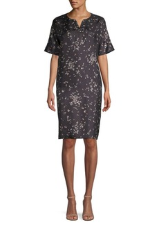 Lafayette 148 Thoren Silk Tunic Dress