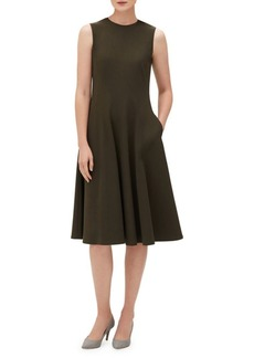 Lafayette 148 Topenga Sleeveless A-Line Dress