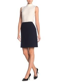 Lafayette 148 Tula A-Line Wool Mini Skirt