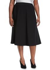 Lafayette 148 Tulip Knit Midi Skirt