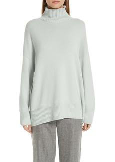 Lafayette 148 Turtleneck Pullover Cashmere Tunic Sweater