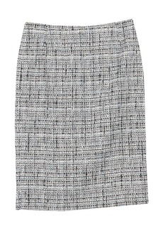 Lafayette 148 Tweed Pencil Skirt