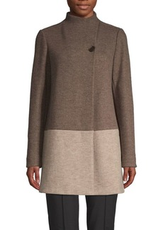 Lafayette 148 Valina Virgin Wool Blend Coat
