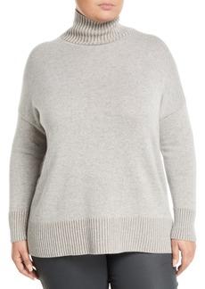 Lafayette 148 Vanise Cashmere Turtleneck Sweater