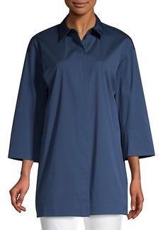 Lafayette 148 Wade Tunic Shirt