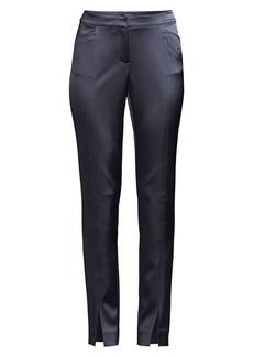 Lafayette 148 Waldorf Slim Satin Pants