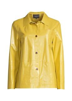 Lafayette 148 Wellesley Leather Jacket