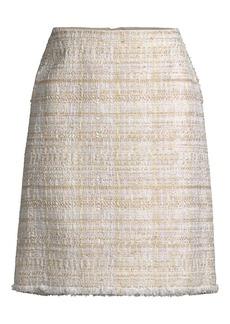 Lafayette 148 Artful Tweed Whitley Skirt