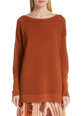Lafayette 148 Wide Neck Tunic Top