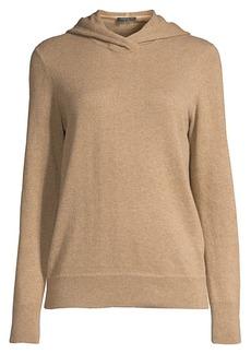 Lafayette 148 Wool & Cashmere Hooded Sweater