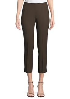 Lafayette 148 Wool-Blend Cropped Pants