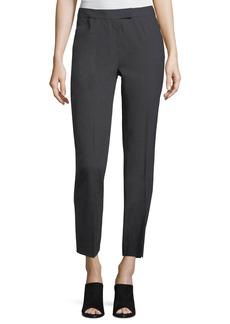 Lafayette 148 Wool-Blend Narrow-Leg Pants