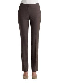 Lafayette 148 Wool-Blend Pants