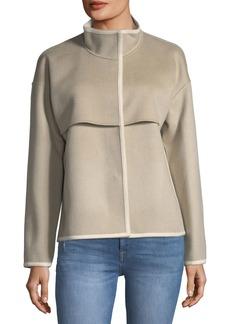 Lafayette 148 Wool-Cashmere Topper Jacket
