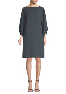 Lafayette 148 Wynona Cinched Sleeve Dress