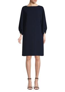 Lafayette 148 Wynona Cinched Sleeve Dress