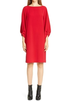 Lafayette 148 Wynona Finesse Crepe Dress