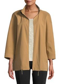 Lafayette 148 Xyler Italian Pima Cotton Jacket