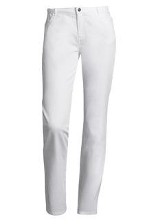Lafayette 148 Yarn Dye Mid-Rise Denim Wooster Jean