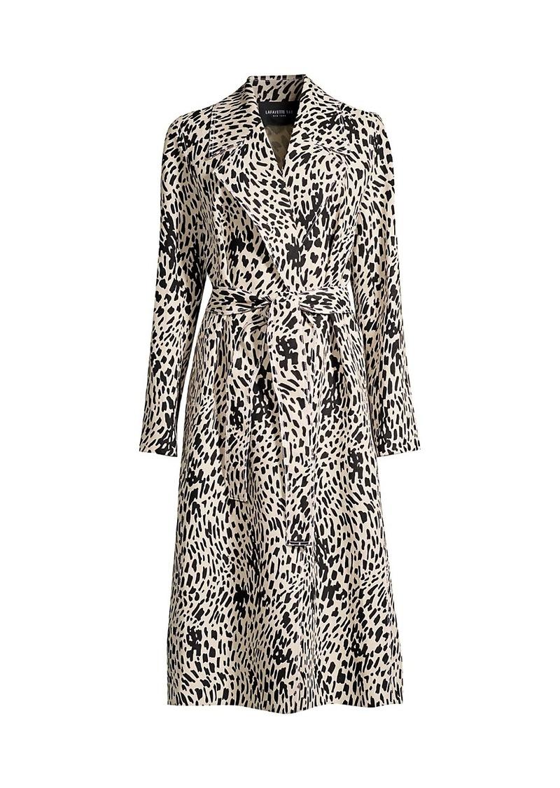 Lafayette 148 Zelida Linen Coat