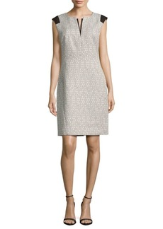Lafayette 148 Zelina Cotton-Blend Dress