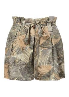 L'Agence Alex Paperbag Ruta Shorts
