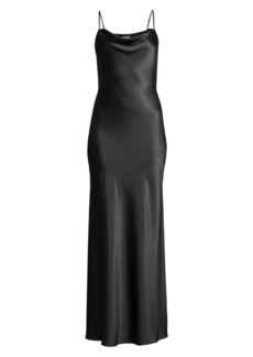 L'Agence Arianne Cowl Silk Gown