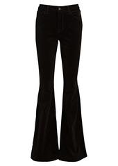 L'Agence Bell Flare Velvet Jeans