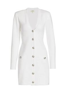 L'Agence Breanna V-Neck Mini Dress