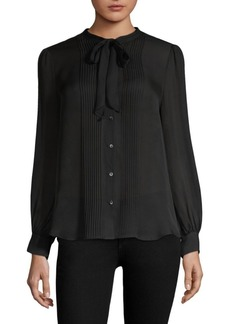 L'Agence Brooke Pleated Blouse