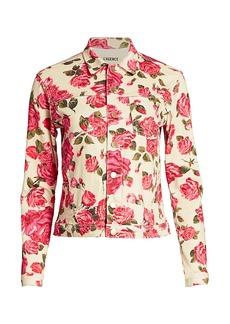 L'Agence Celine Rose Trucker Jacket