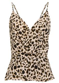 L'Agence Chiara Silk Twist Camisole
