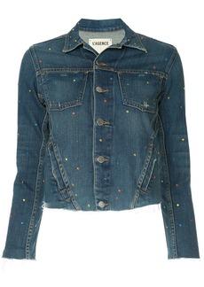 L'Agence cropped denim jacket