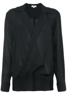 L'Agence draped blouse