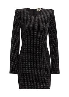 L'Agence Eden Slit-Sleeve Mini Dress