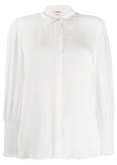 L'Agence elasticated cuff shirt