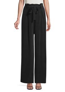 L'Agence Bobby Silk Paperbag Pants