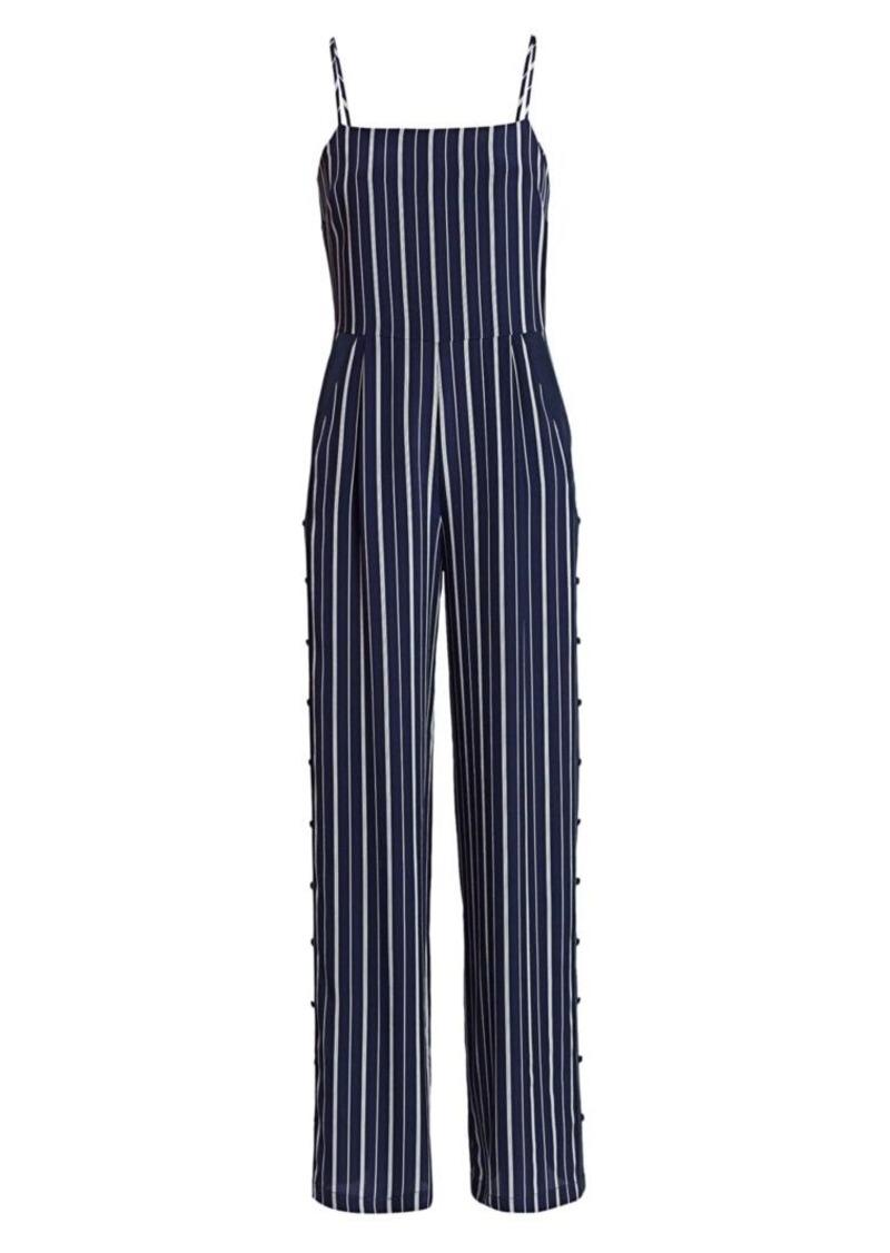 L'Agence Finley Button-Leg Jumpsuit
