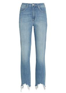 L'Agence Harlem Distressed Skinny Jeans