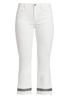 L'Agence Jada Cropped Tape Jeans