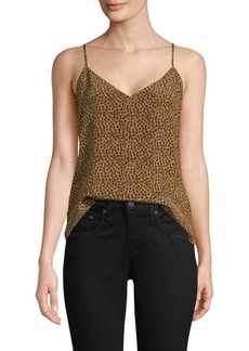 L'Agence Jane Cheetah Print Camisole