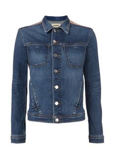 L'Agence Celine Foil Denim Jacket