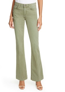 L'AGENCE Affair Relaxed Flare Jeans (Brigade)