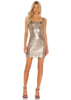 L'AGENCE Auden Sequin Dress