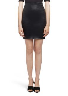 L'AGENCE Brandy Pencil Miniskirt